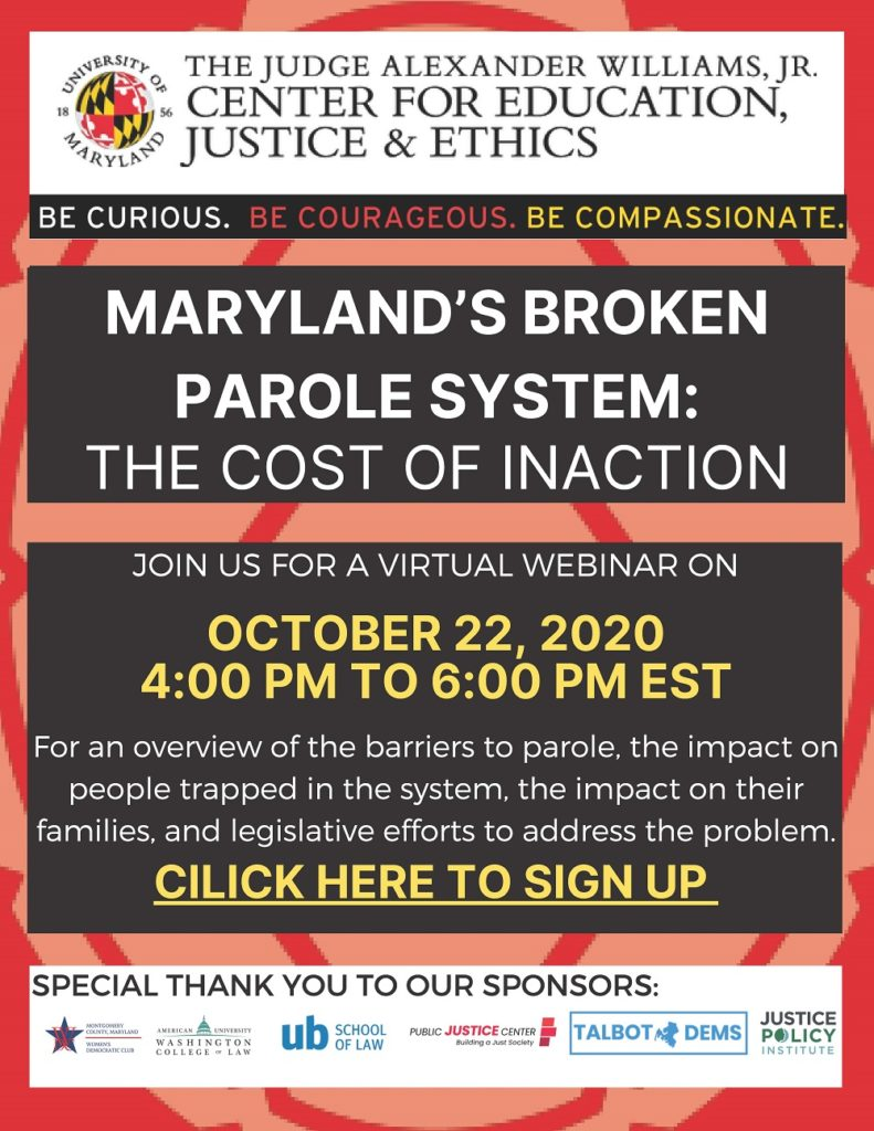 Maryland's Broken Parole System: The Cost of Inaction